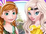 Игра Каникулы Анны и Эльзы